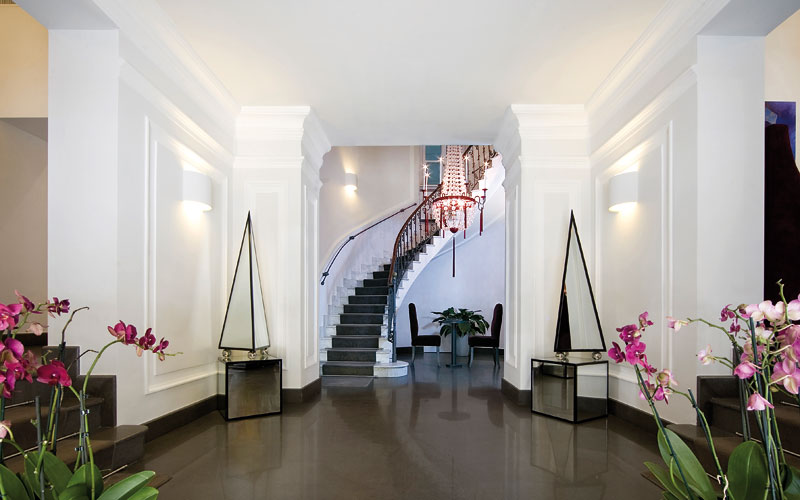Hotel palazzo decumani napoli official website hotel for Hotel design naples